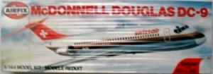 AIRFIX 1/144 03179 McDONNELL-DOUGLAS DC-9 SWISS