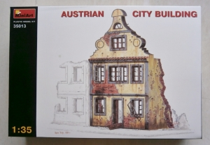 MINIART 1/35 35013 AUSTRIAN CITY BUILDING