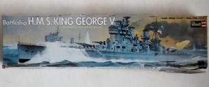 REVELL  H380 KING GEORGE V