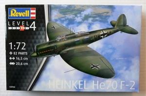 REVELL 1/72 03962 HEINKEL He 70F-2