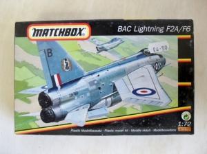 MATCHBOX 1/72 40152 BAC LIGHTNING F2A/F6