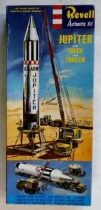 REVELL  H-1824 129 JUPITER TRUCK   TRAILER S TYPE BOXING 1958