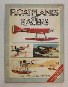 CHEAP BOOKS  ZB709 FLOATPLANES AND RACERS
