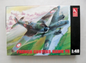 HOBBYCRAFT 1/48 1560 FRENCH CURTISS HAWK 75
