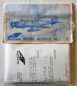 AIRFRAME 1/72 VICKERS WELLESLEY Mk.I