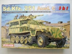 DRAGON 1/35 6224 Sd.Kfz 251 Ausf.C 3 IN 1
