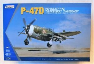 KINETIC 1/24 3208 REPUBLIC P-47D THUNDERBOLT RAZORBACK