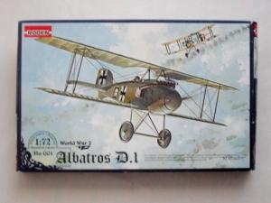 RODEN 1/72 001 ALBATROS D.I
