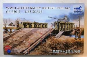 BRONCO 1/35 35012 WWII ALLIED BAILEY BRIDGE TYPE M2