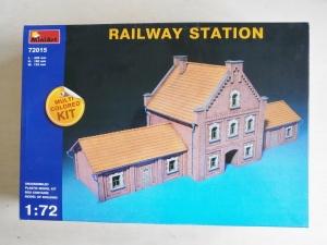 MINIART 1/72 72015 RAILWAY STATION