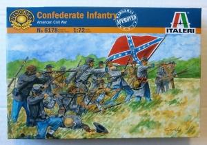 ITALERI 1/72 6178 CONFEDERATE INFANTRY AMERICAN CIVIL WAR