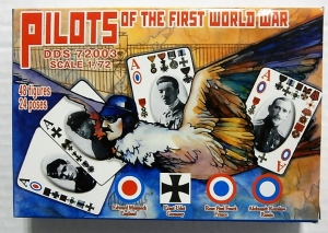 ORION 1/72 72003 PILOTS OF THE FIRST WORLD WAR