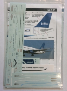 0 1/200 1281. 231 JETBLUE DOTS A320