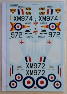 XTRADECAL 1/48 48151 EE/BAC LIGHTNING T.4