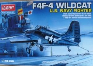 ACADEMY 1/72 1650 GRUMMAN F4F-4 WILDCAT