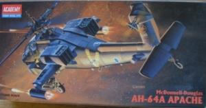 1/72 2138 McDONNELL DOUGLAS AH-64A APACHE