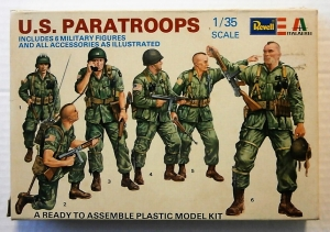 REVELL 1/35 H2130 US PARATROOPS