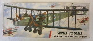 AIRFIX 1/72 590 HANDLEY PAGE 0-400