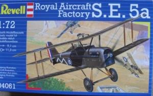 REVELL 1/72 04061 ROYAL AIRCRAFT FACTORY S.E.5a