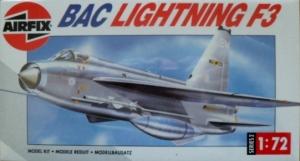 AIRFIX 1/72 02080 BAC/EE LIGHTNING F.3