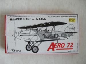 AEROCLUB 1/72 HAWKER HART AUDAX