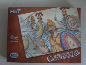 HAT INDUSTRIES 1/32 9020 CARTHAGINIAN AFRICAN INFANTRY