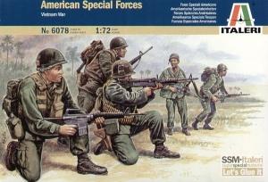 ITALERI 1/72 6078 VIETNAM US SPECIAL FORCES