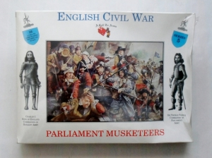 CALL TO ARMS 1/32 05 PARLIAMENT MUSKETEERS