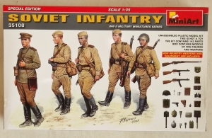 MINIART 1/35 35108 SOVIET INFANTRY SPECIAL EDITION
