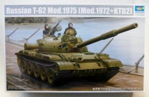 TRUMPETER 1/35 01552 RUSSIAN T-62 Mod 1975