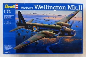 REVELL 1/72 04903 VICKERS WELLINGTON Mk.II
