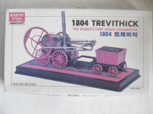 ACADEMY  1525 1804 TREVITHICK WORLDS FIRST STEAM LOCO 1/38