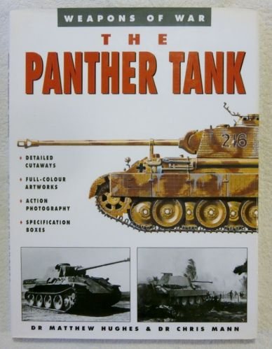 CHEAP BOOKS  ZB2071 WEAPONS OF WAR THE PANTHER TANK