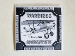 WARBIRDS 1/72 PFALZ D.III