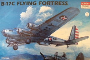 ACADEMY 1/72 1666 BOEING B-17C FLYING FORTRESS