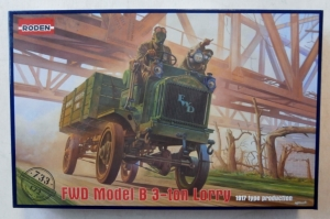 RODEN 1/72 733 FWD MODEL B 3-TON LORRY