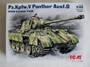 ICM 1/35 35361 Pz.Kpfw.V PANTHER Ausf.D