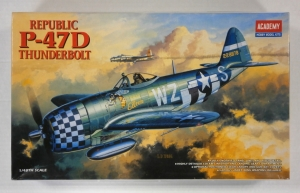 ACADEMY 1/48 2159 REPUBLIC P-47D THUNDERBOLT BUBBLETOP