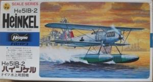 HASEGAWA 1/72 JS-052 HEINKEL He 51B-2 SEAPLANE