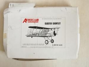 AEROCLUB 1/48 GLOSTER GAUNTLET