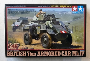 TAMIYA 1/48 32587 BRITISH 7ton ARMOURED CAR Mk.IV