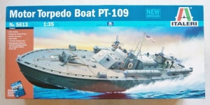 ITALERI 1/35 5613 MOTOR TORPEDO BOAT PT-109  UK SALE ONLY