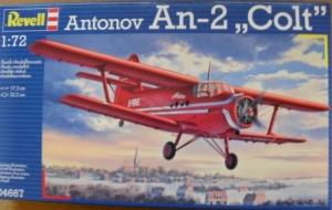 REVELL 1/72 04667 ANTONOV An-2 COLT