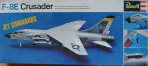 REVELL  H255 F-8E CRUSADER JET COMMANDO