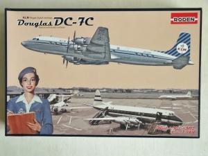 RODEN 1/144 302 DOUGLAS DC-7C KLM