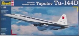 REVELL 1/144 04871 TUPOLEV Tu-144D