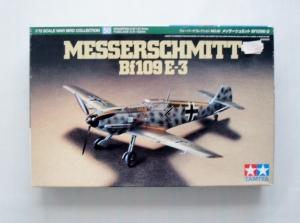 TAMIYA 1/72 60750 MESSERSCHMITT Bf 109 E-3