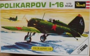 REVELL 1/72 H635 POLIKARPOV I-16