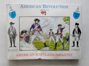 CALL TO ARMS 1/32 10 AMERICAN REVOLUTIONARIES MARYLAND INFANTRY
