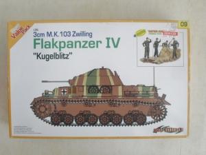 CYBER-HOBBYCOM 1/35 9109 3cm M.K.103 ZWILLING FLAKPANZER IV KUGELBLITZ